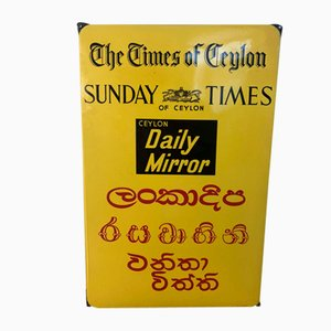 Insegna The Times of Ceylon