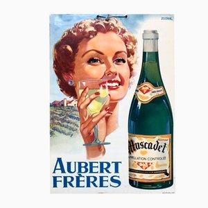 Cartel de Aubert Frères