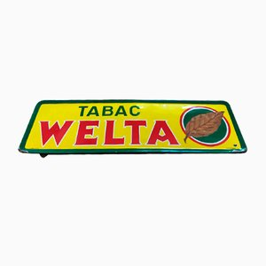 Tabac Welta XL Sign, 1950s