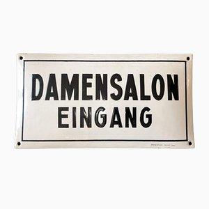 Damensalon Sign, 1920s