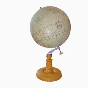 Antiker Globus von Thomas Girard Paris, 1920er