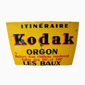 Kodak Orgon Schild