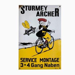 Sturmey Archer Sign