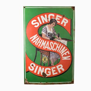 Singer Sewing Machines Sign, 1930s