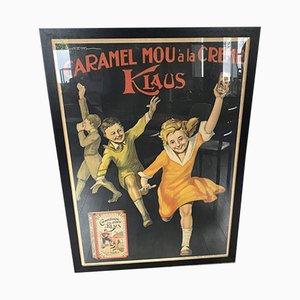 Poster di cioccolato Klaus, 1929