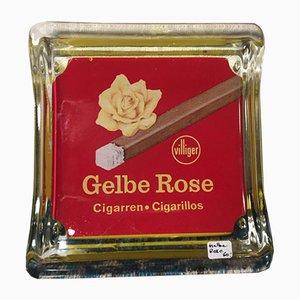 Villiger Yellow Rose Ashtray