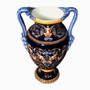 Gien Vase, France, 1960s