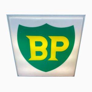 Insegna BP grande illuminata, anni '50