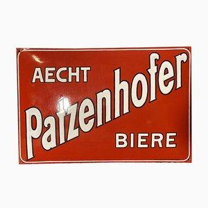 Cartel de Patzenhofer esmaltado, Berlín, años 10