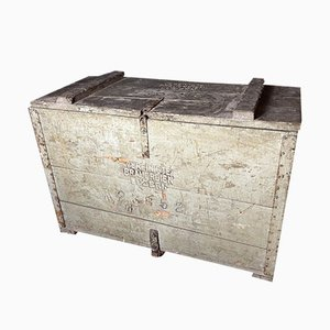 Antique Wooden Box from Lucerne Brewery, 1920s