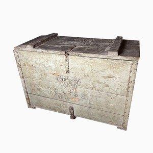 Caja antigua de madera de Lucerne Brewery, años 20