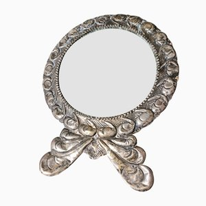 Make-Up Mirror in 800 Silver