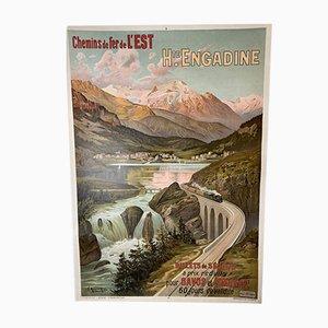 Plakat the Eastern Hugo Railway, Alesi Um, 1905