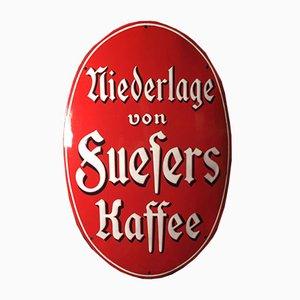 Insegna di caffè Suefers, inizio XX secolo