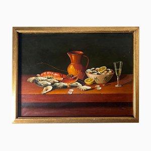 Still Life on Canvas by Navas