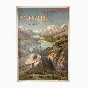 Poster The East Hugo Railway, Alesi, 1900