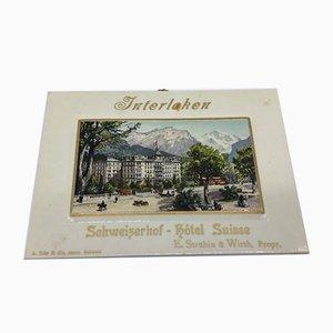 Advertisement for Imoglas Hotel Schweizerhof, 1920s