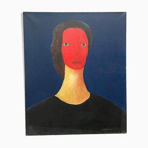 Mona Öl auf Leinwand