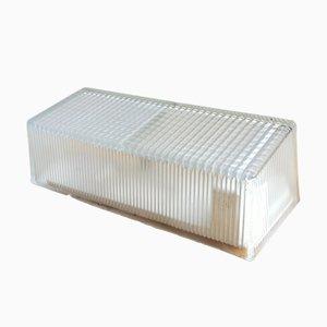 Aplique Holophane N ° 19748 de vidrio comprimido