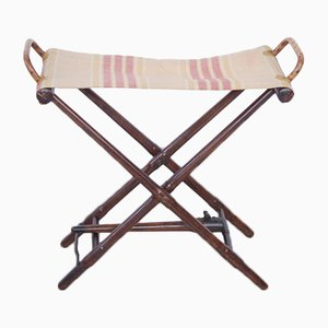 Foldable Stool Convertible into a Wooden Stick