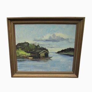 Pintura al óleo, Suecia, años 70