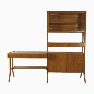 Vintage Desk, Bookcase & Chair by František Jirák, 1970s, Set of 3