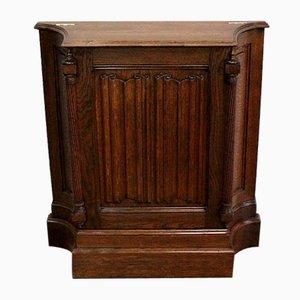 Renaissance Style Jeanselme Cabinet in Solid Oak, Late 19th Century
