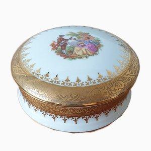 Joyero de porcelana de Limoges