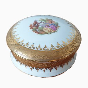 Limoges Porcelain Jewelry Box