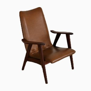 Vintage Easy Chair by Louis Van Teeffelen for Wébé