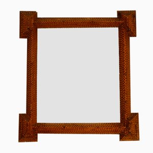Wooden Frame Wall Mirror, 1930s