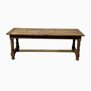 French 19th Century Oak Farmhouse Kitchen Table