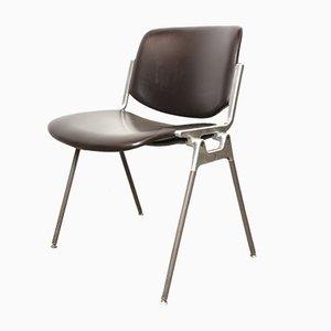 DSC 106 Desk Chair by Giancarlo Piretti for Castelli / Anonima Castelli, 1960s, Italy