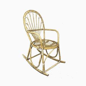 Rattan Rocking Chair, 1960s