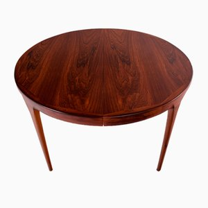 Dining Table in Rosewood by IB Kofod Larsen for Faarup Mobelfabrik