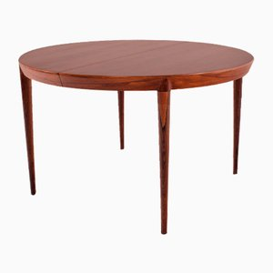Rosewood Dining Table by Severin Hansen for Haslev Moberner
