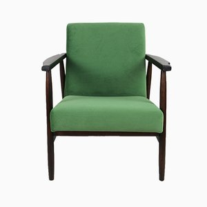 Vintage Light Green Easy Chair, 1970s