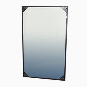 Eisen Geschmiedeter Art Deco Spiegel