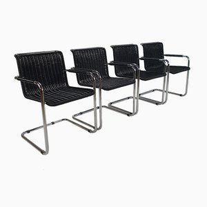 Cantilever Chairs in Tecta Style, 1970s, Set of 4
