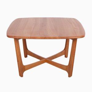 Mid-Century Danish Elm Coffee Table, 1960s