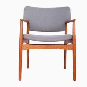 Mid-Century Armchair by A. B. Madsen & E. Larsen for Fritz Hansen, 1960s