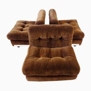 Amanta Living Room Set by Mario Bellini for B&B Italia / C&B Italia, Set of 3