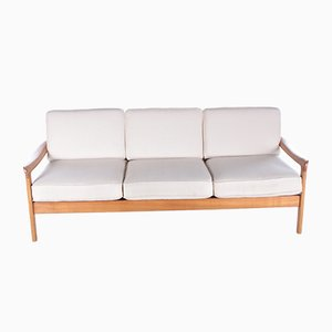 Dänisches Vintage 3-Sitzer Sofa aus Teak von Ole Wanners für Cado, 1960er