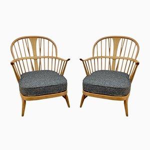 Vintage Ercol Sessel von Lucian Ercolani für Ercol, 2er Set