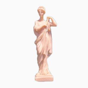 Alabaster Statue Diana, Greece, 1950-1974