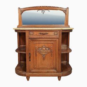 Art Deco Walnuss Buffet
