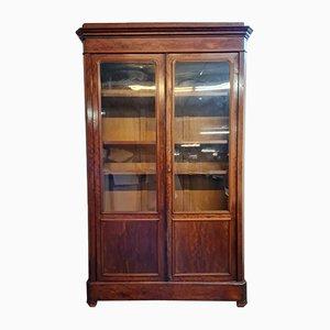 Louis Philippe Mahogany Bookcase