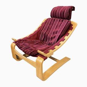 Mid-Century Kroken Lounge Chair by Åke Fribyter for Nelo Möbel, 1970s