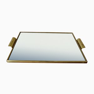 Art Deco Style Mirrored Serving Tray