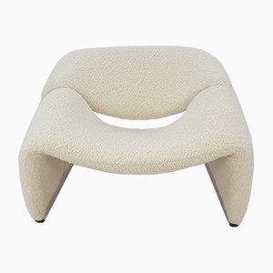 Mid-Century F598 Groovy Chair von Pierre Paulin für Artifort, 1980er